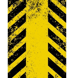 hazard stripes vector image vector image