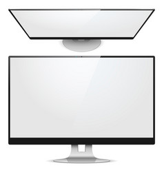 Monitor Front View vector image