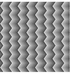 wavy zigzag vertical lines seamless pattern vector image