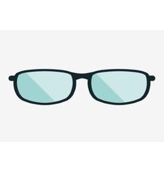 Fashion glasses object design vector