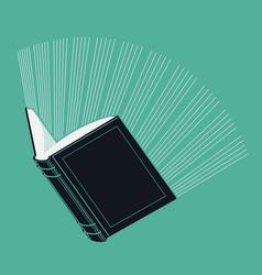 Glowing Book vector
