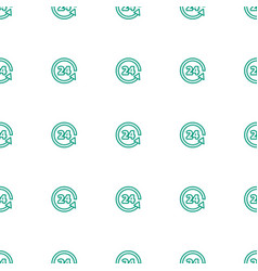 Support icon pattern seamless white background vector