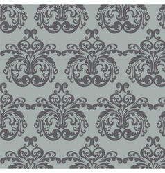 Vintage Royal Classic damask pattern vector