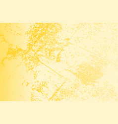 yellow grunge texture vector image