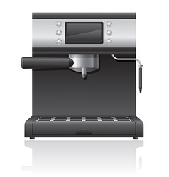 coffee maker 03 vector image vector image