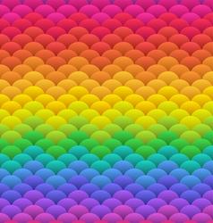 Rainbow blobs seamless vector image vector image