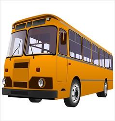 Passenger bus01 vector