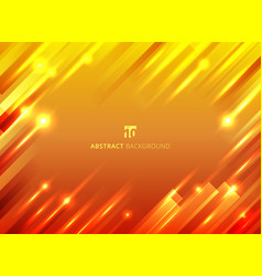 abstract geometric motion with lighting glow vector image