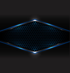 abstract technology futuristic concept black and vector image