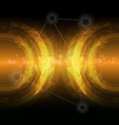 Dark yellow abstract backgroud vector