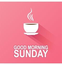 Days week sunday vector