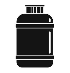 Gas cylinder lpg icon simple style vector