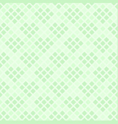 Green diamond pattern with hearts seamless vector