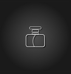 parfume icon flat vector image