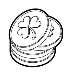saint patrick design vector image