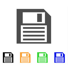 Save floppy icon vector