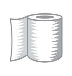Toilet paper icon2 resize vector image