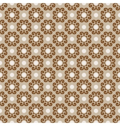 vector seamless ornate background vector image