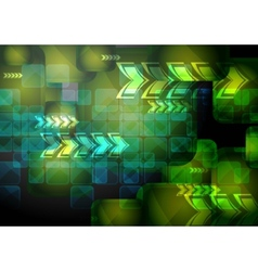 vibrant technical backdrop vector image vector image