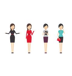 women dress code vector image