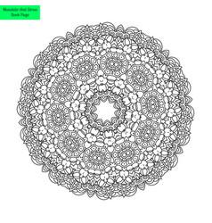 mandala pretty vector image vector image
