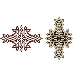 Celtic tattoo design vector image vector image