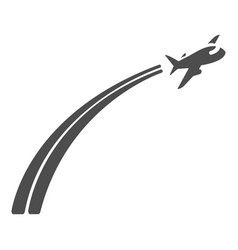 Airplane icon airplane sign and symbol vector