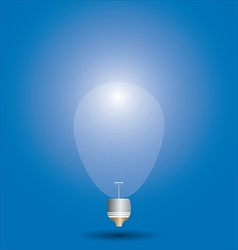 Conceptual Light Bulb vector image