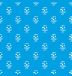 Equilibrium pattern seamless blue vector