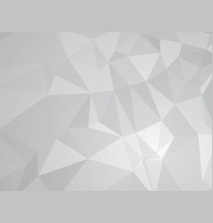 gray geometric design vector image