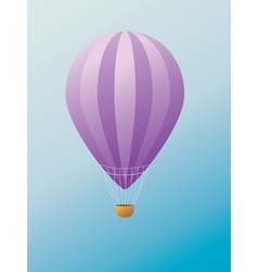 Hot air balloon2 vector image