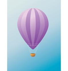 Hot air balloon2 vector