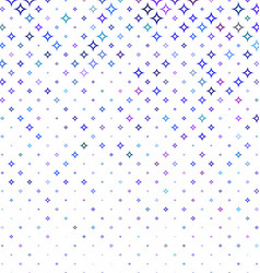 Multicolor abstract curved star pattern background vector