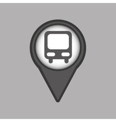 Travel concept location map bus design graphic vector