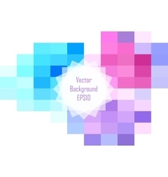 Abstract colorful rectangular background design vector