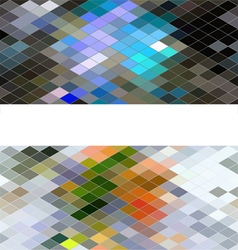 Diamond seamless pattern abstract background vector image vector image