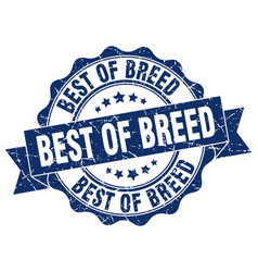 Best of breed stamp sign seal vector