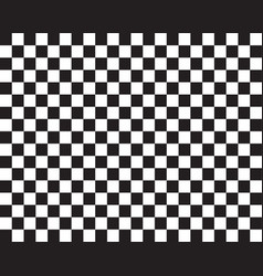 Checked flag pattern vector
