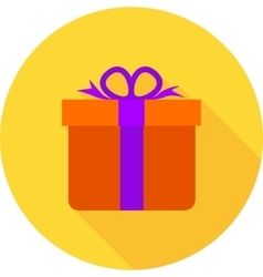 Gift birthday vector