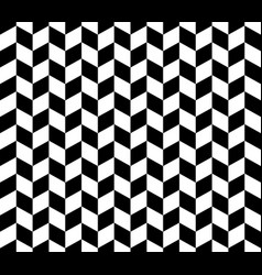 herringbone pattern in black and white vector image