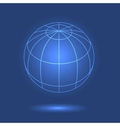 Model of globe vector
