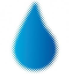 raindrop vector image