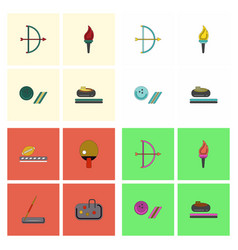 Set of olympic sport games vector