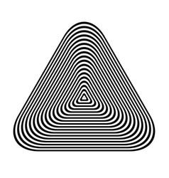 Triangle design element vector