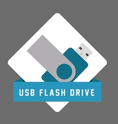 USB digital design vector