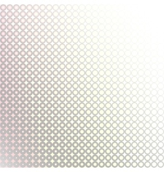 White grey circles vector image