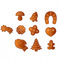 spice cake vector image
