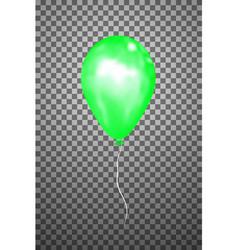 green air balloon eps10 vector image vector image