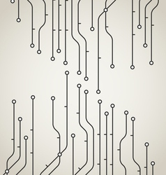 Abstract metro scheme background vector image vector image
