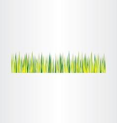 green grass background design element vector image